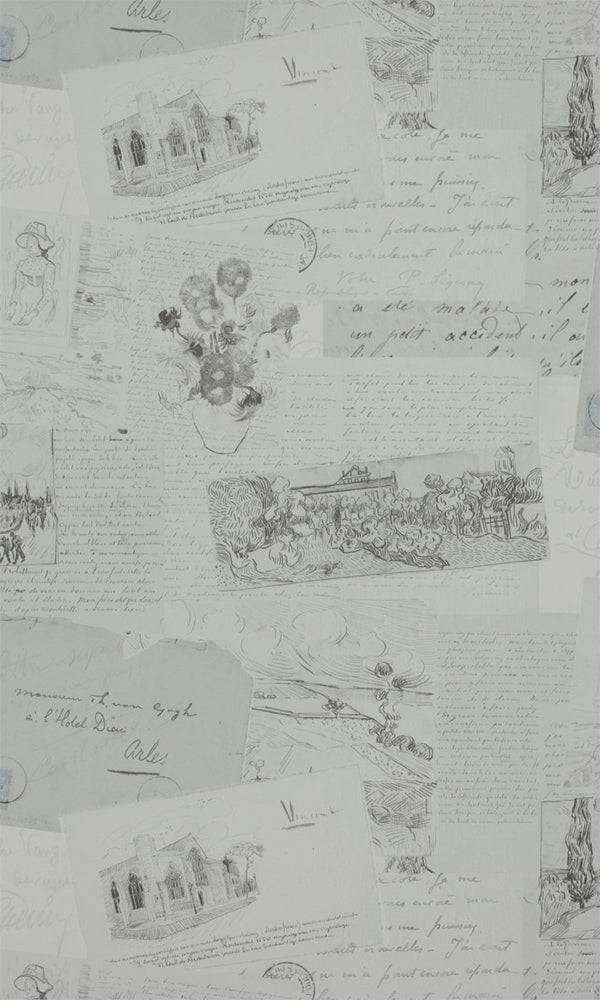 Van Gogh  Letters Wallpaper 17202