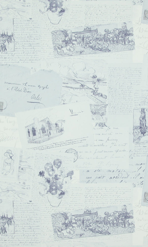 Van Gogh  Letters Wallpaper 17203