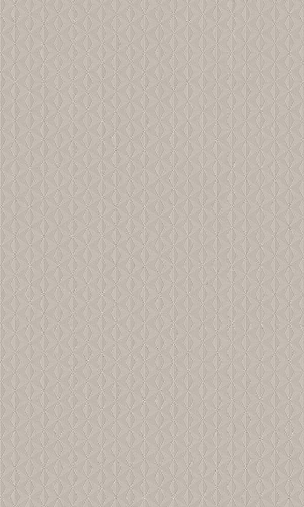 Texture Stories Taupe Cubed Wallpaper 17318