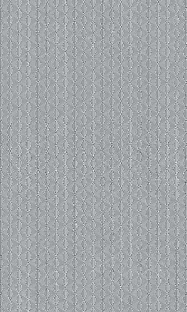 Texture Stories Silver Cubed Wallpaper 17324