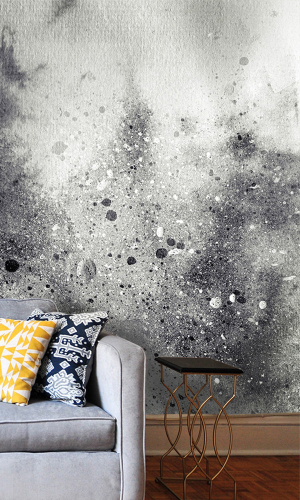 Curated Bespoke Murals Cloudy Splatters Wallpaper 2001010