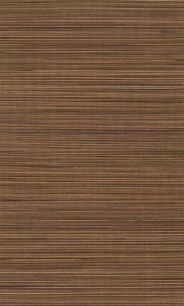 Bamboo Gradient Orange and Brown Grasscloth Wallpaper R2846