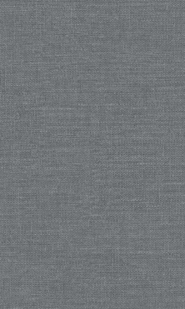 Texture Stories Dark Grey Woven Wool 218911