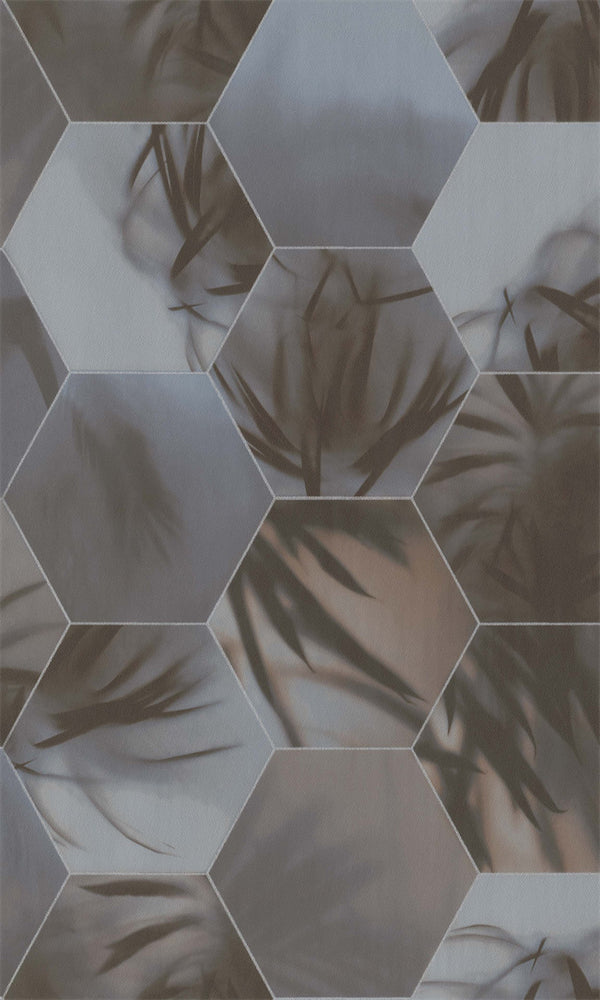 Dimensions Warm Sunset Grey Tropical Tessellation 219574