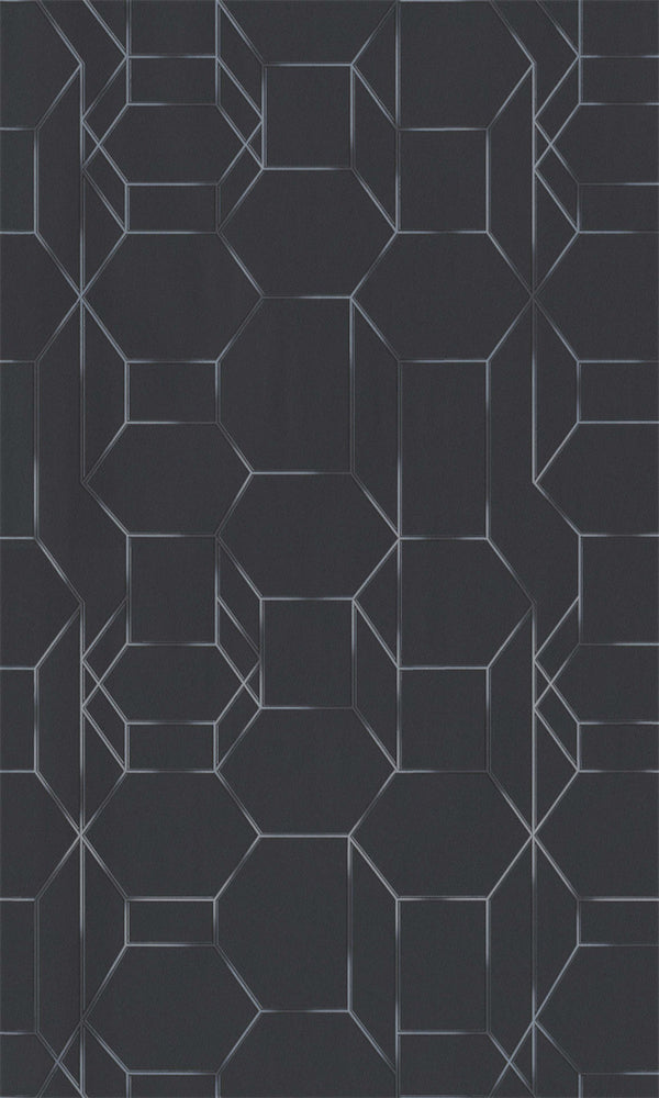 Dimensions Black Linked Geometrics 219603