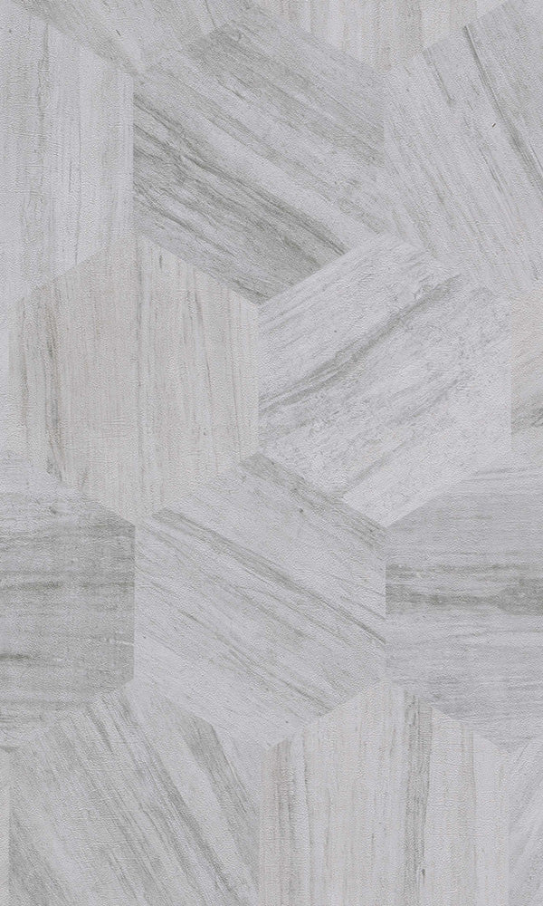 Material World Cool Grey Shifted Geometric Wood 219840