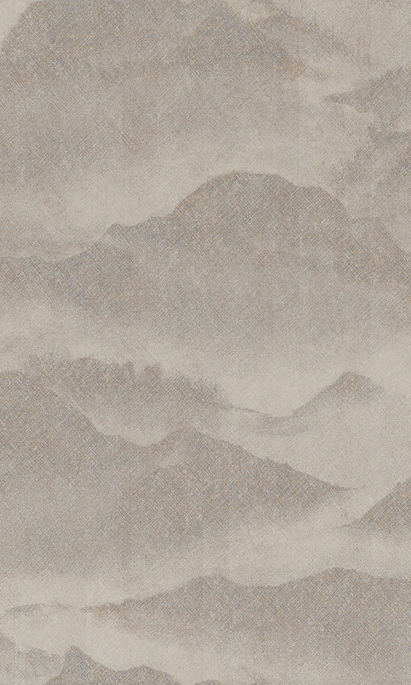 abstract misty mountains wallpaper