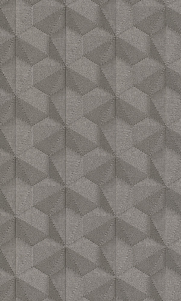 3d illusion geometric wallpaper