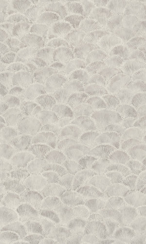 vintage art deco shell wallpaper