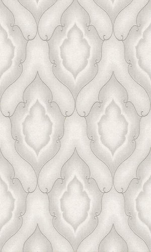 Amira Stippled Damask Wallpaper 225869