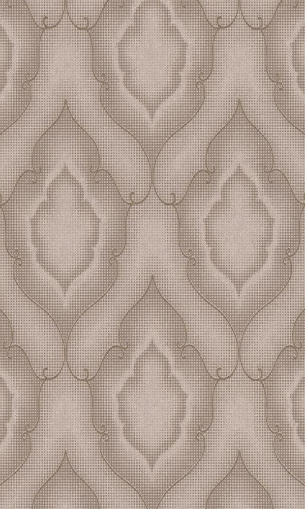 Amira Stippled Damask Wallpaper 225883