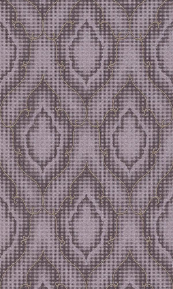 Amira Stippled Damask Wallpaper 225890
