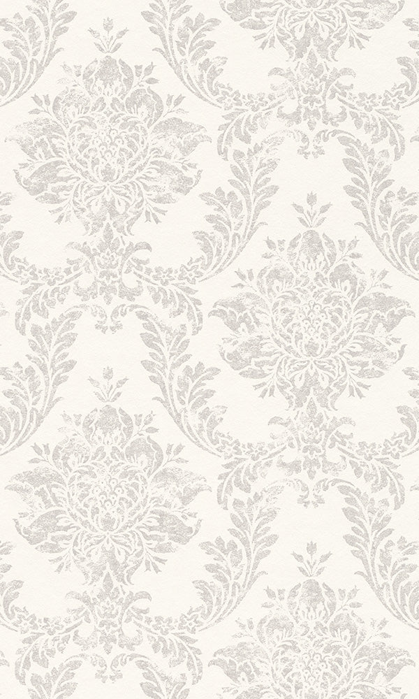 classic metallic damask wallpaper