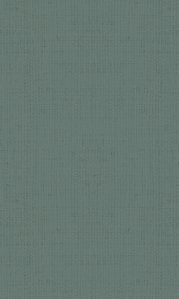 Casual Dark Teal Textured Plain Weave 30451