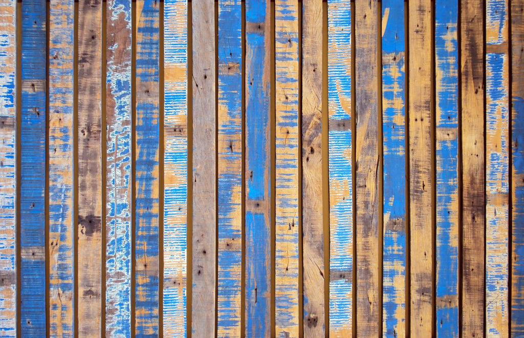 Structures Coloured Planks Wallpaper 372258
