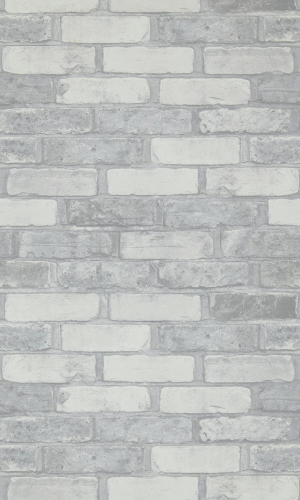 More Than Elements Running Bond Brick Wallpaper 49781