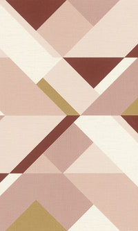 Modern Motifs 2.0 Pink Sharp Color Blocked Shapes 533101