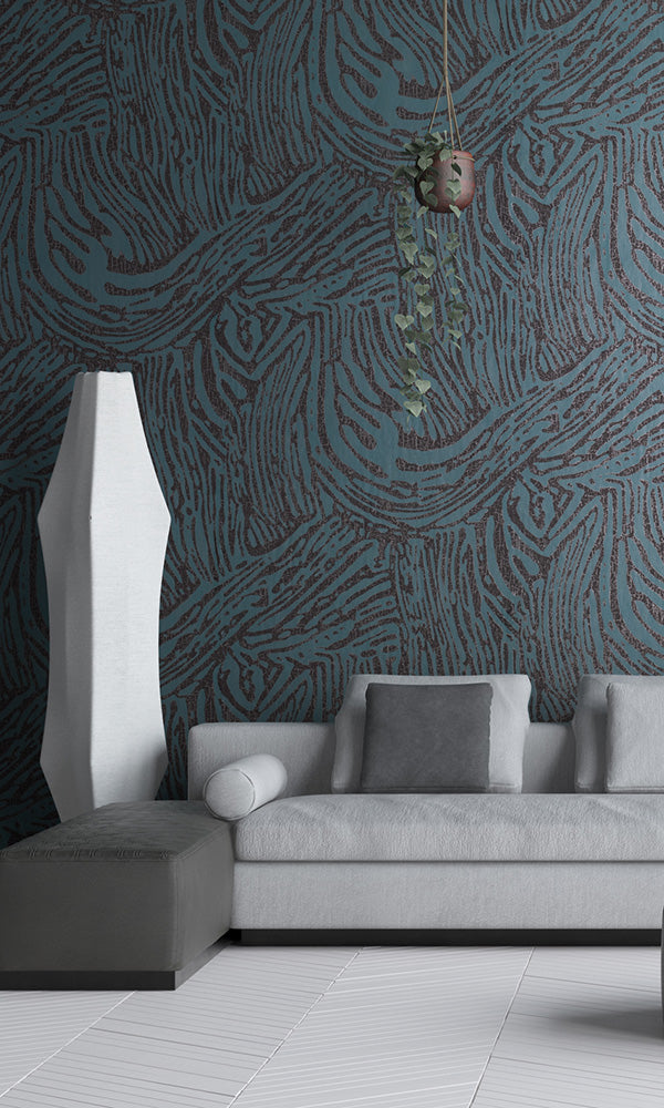 Kreativa Blue Crackled Africa 64877