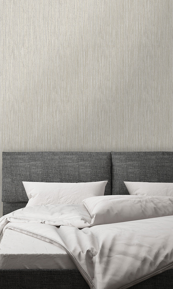 metallic pinstripes wallpaper