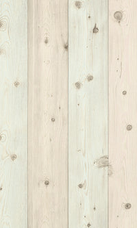 Modern Motifs 2.0 Pastel Pink & Blue Raw Smooth Wooden Planks 664515