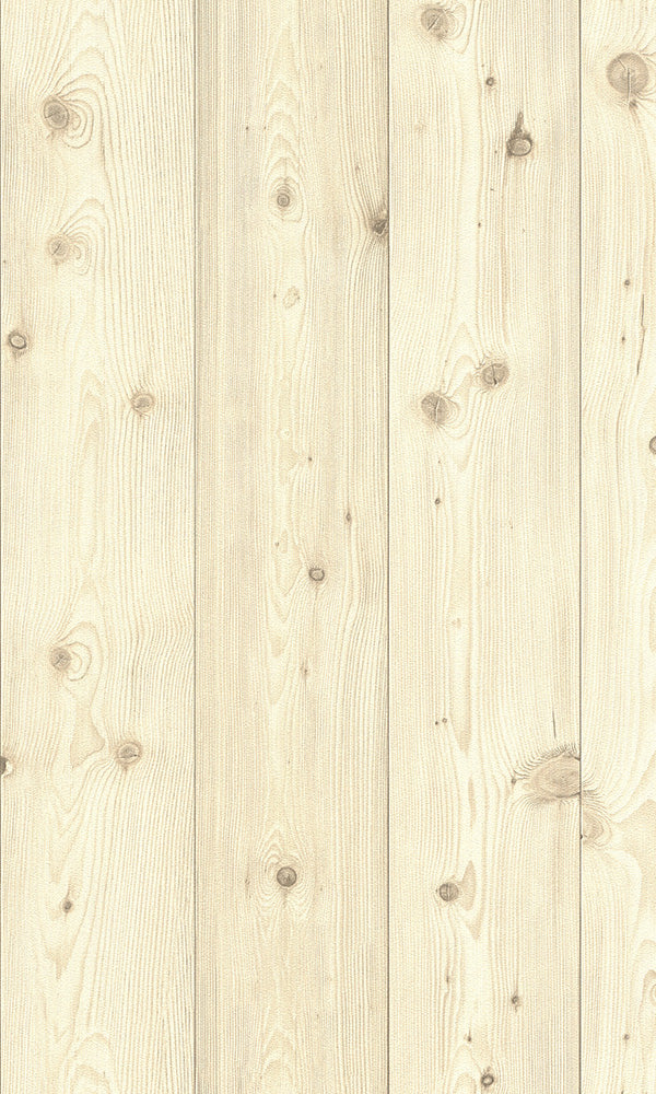 Modern Motifs 2.0 Tan Raw Smooth Wooden Planks 664522