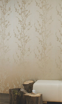 Ode to Nature GLASS BEAD Sage Wallpaper 80644