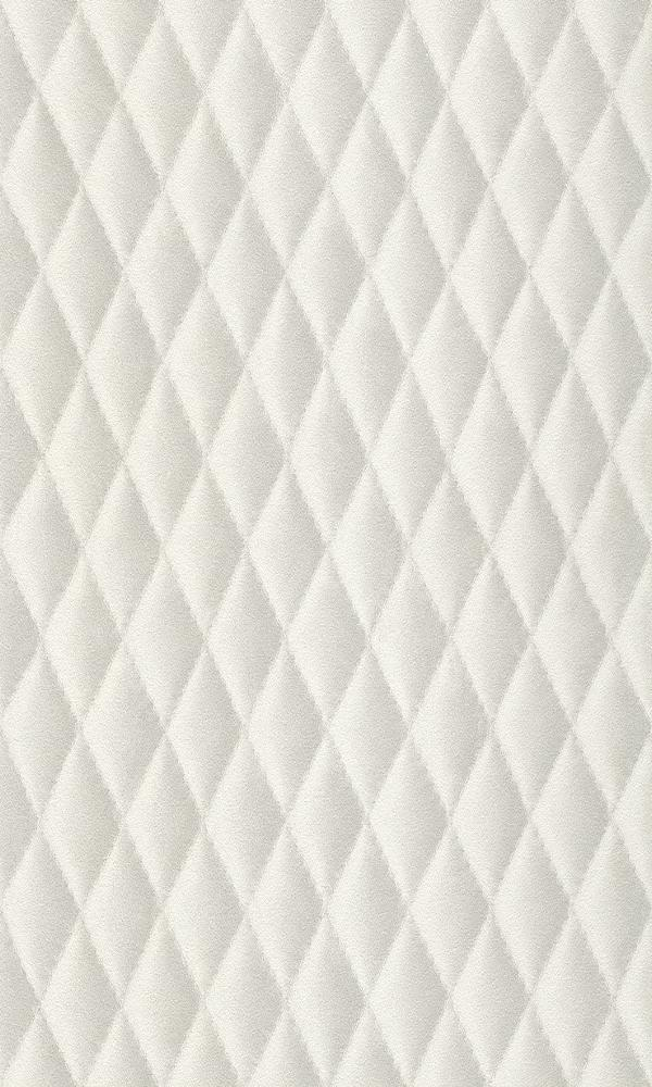Amelie Diamond Stitched Leather Wallpaper 861600