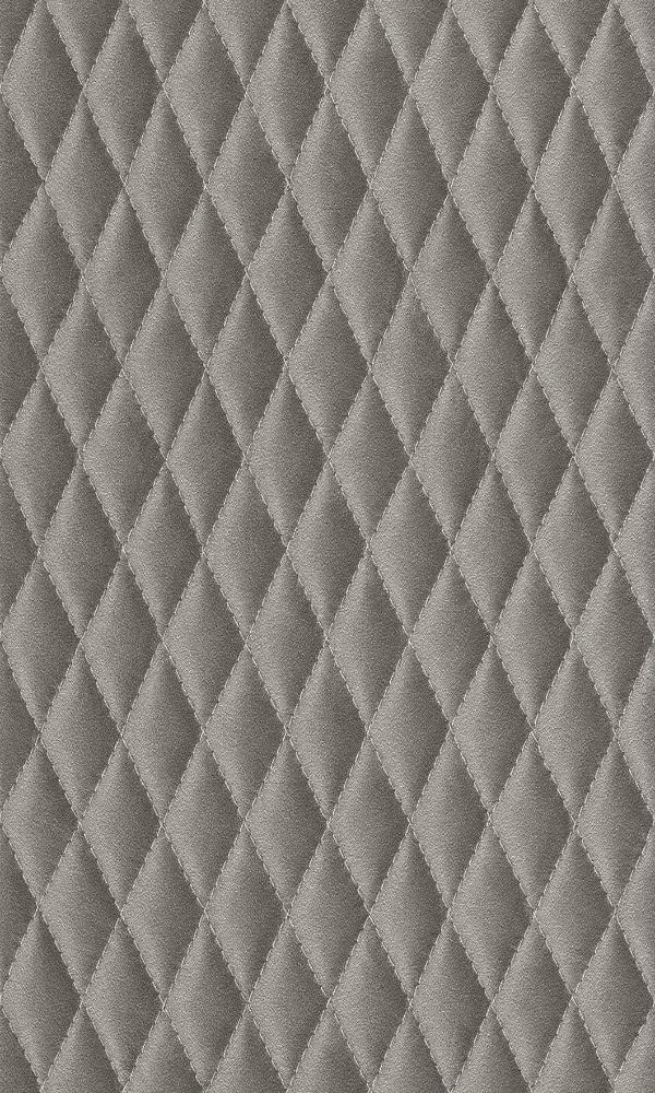 Amelie Diamond Stitched Leather Wallpaper 861631