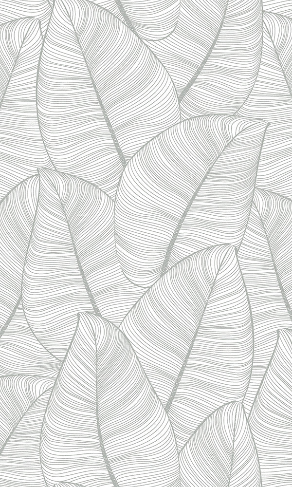 lined leaves wallpaper