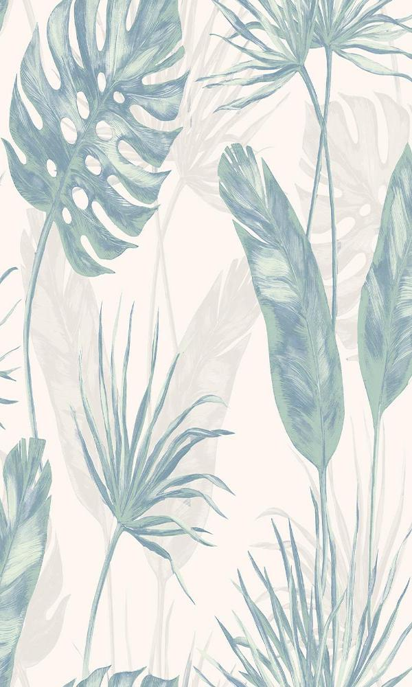 Modern Motifs Jungle Imprinted Wallpaper AC18545