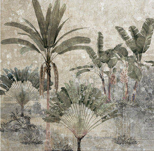 Weathered Tropics Wallpaper Mural AZ025