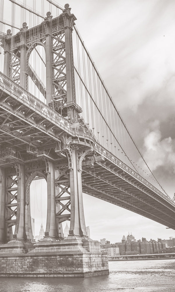 City Love New York Manhattan Bridge Wallpaper CL04A
