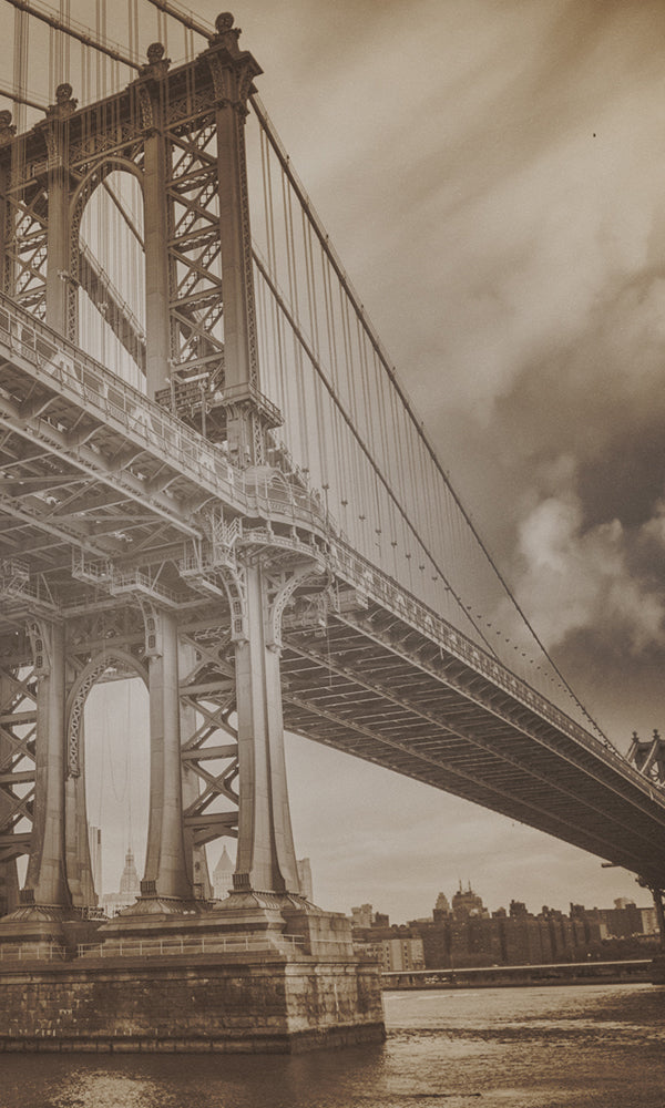 City Love New York Manhattan Bridge Wallpaper Cl04c Prime Walls Us