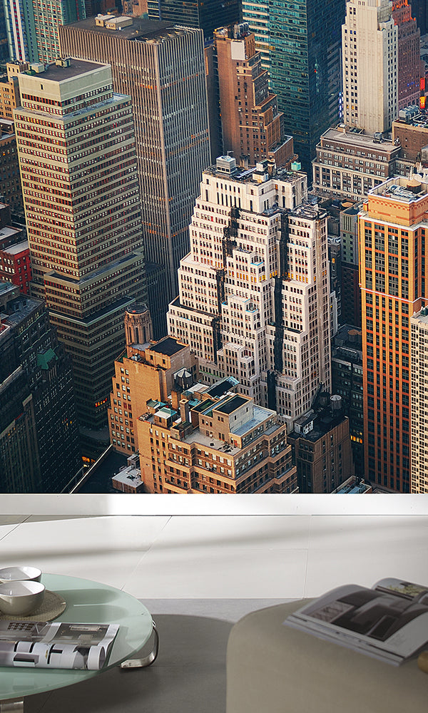 City Love New York Skyscrapers Wallpaper CL12A