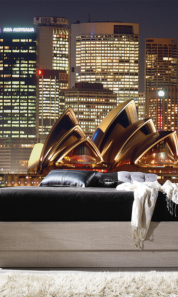 City Love Sydney Opera House at Night Wallpaper CL71A