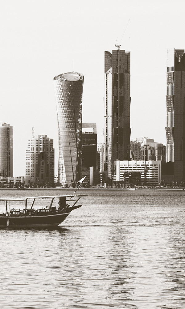 City Love Doha from the Water Wallpaper CL74A