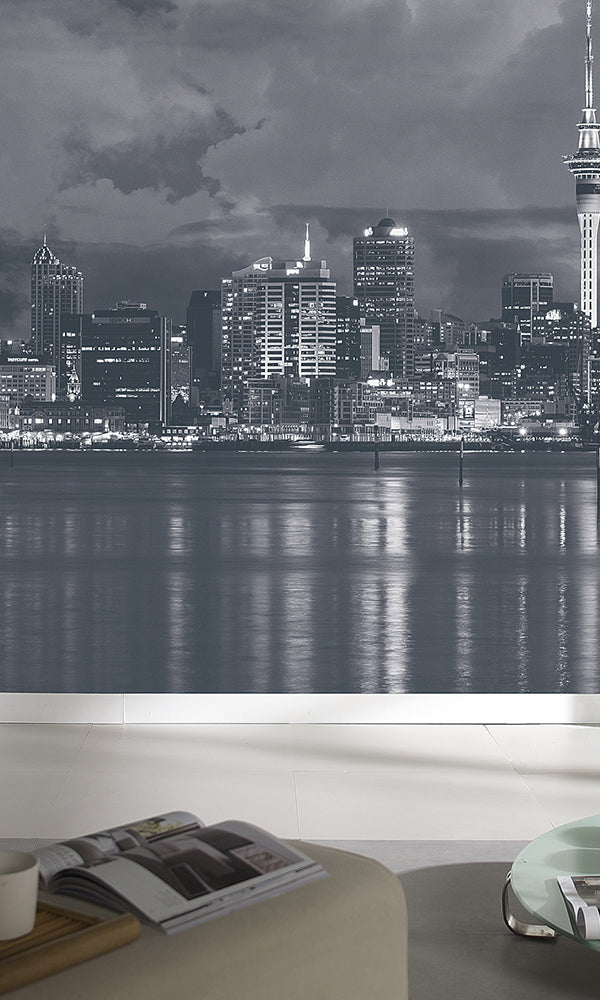 City Love Auckland at Night Wallpaper CL79A