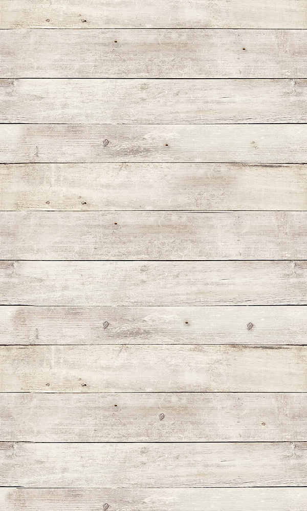 City Love White Washed Wood Wallpaper CL97