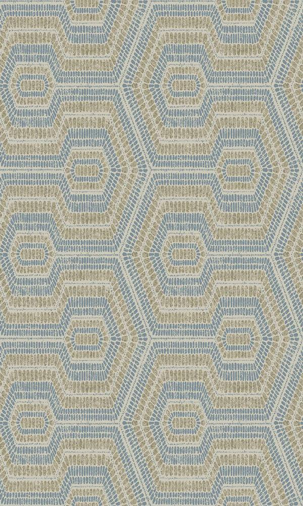 Bohemian Looped Beads Wallpaper SP18254