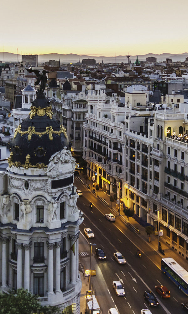 City Love Madrid Overview Wallpaper CL15A