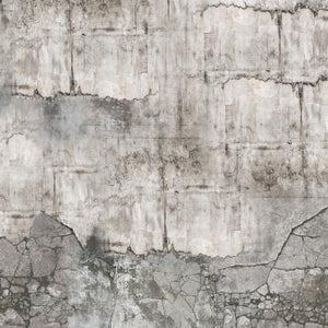 Vanilla Lime Weathered Concrete Wallpaper 014332