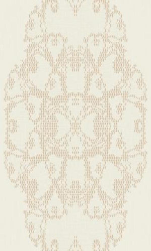 Boutique Satin Medallion Wallpaper BT2007
