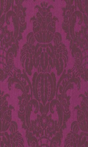 Seraphine Exotic Damask Wallpaper 076515