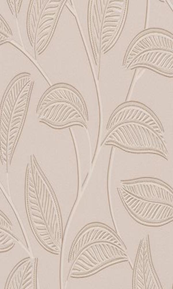 Plaisir 2015  Glittered Leaf Wallpaper 886405