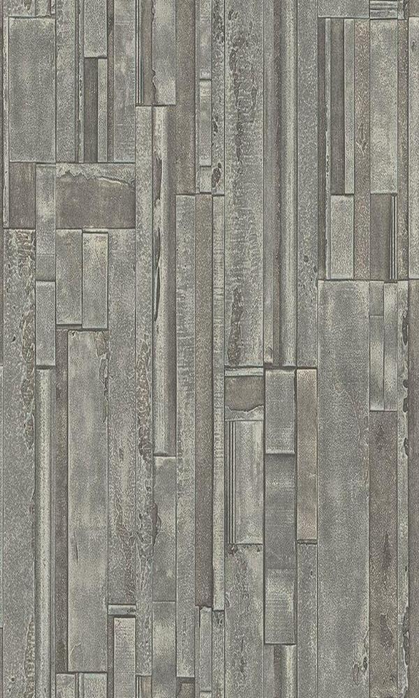 Titanium Weathered Wooden Planks RM41102