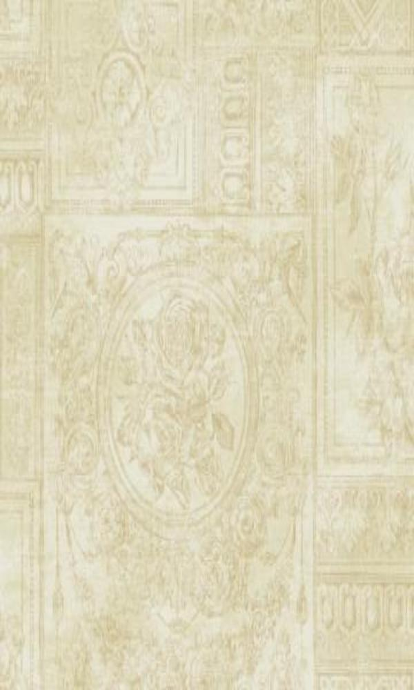 Brockhall Floral Collage Wallpaper NH21205