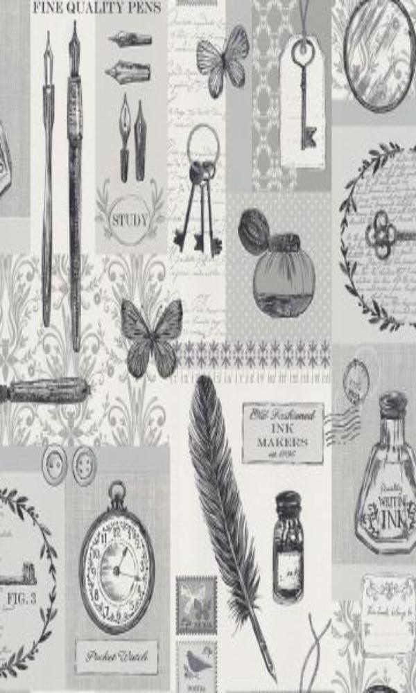 Plaisir 2015  Vintage Trinkets Wallpaper 884814