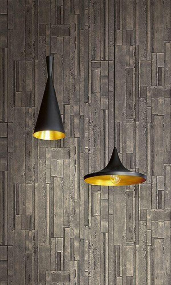 Titanium Weathered Wooden Planks RM41106
