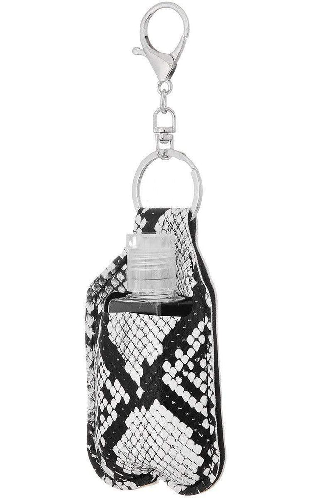Bottle & Keychain Holder-Snake Skin, Scallop Variety - Sassy & Southern