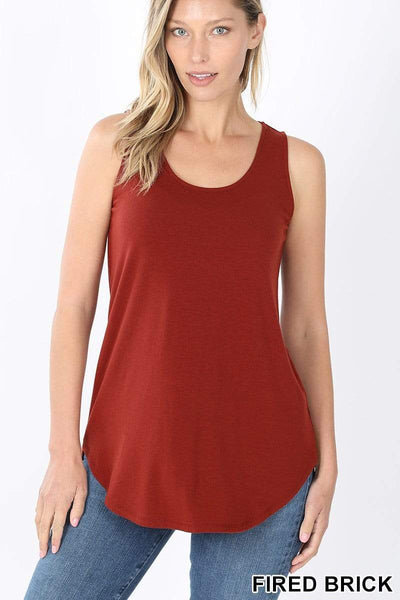 Relaxed Fit Tank Tops in Reg & Plus-MULTIPLE COLORS - Sassy & Southern